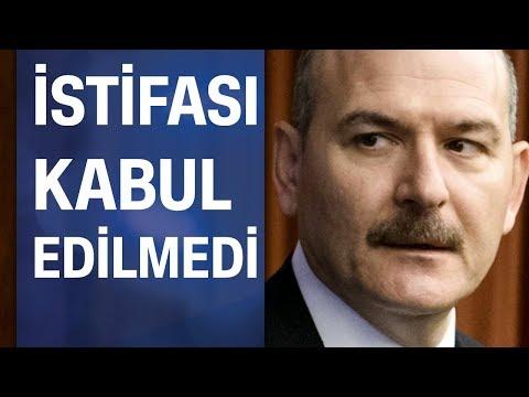 Süleyman Soylu'nun istifası kabul edilmedi: Erdoğan istifayı uygun bulmadı